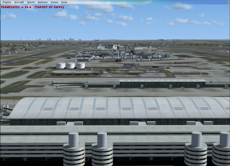 Heathrow at 20 fps in FSX - Aerosoft Scenery - AEROSOFT